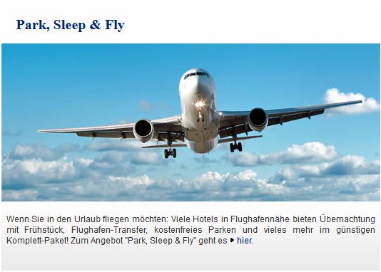 Best Western Angebot Park, Sleep & Fly