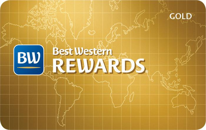 Best Western Rewards Gold Status