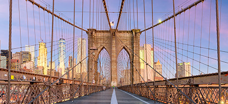 Brooklyn-Brücke in New York City